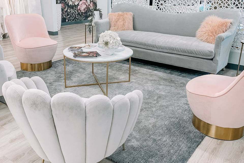 Lovely seating area