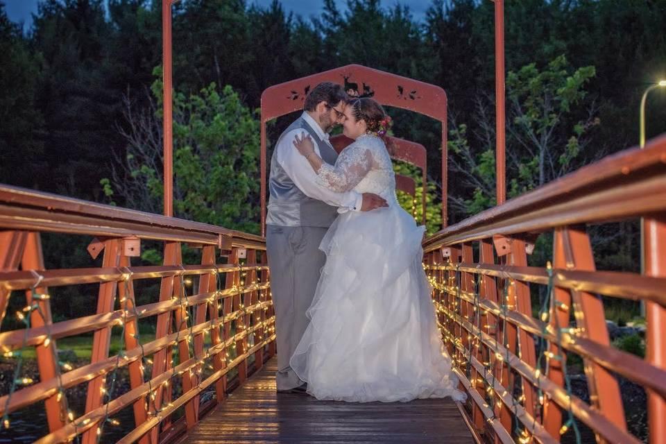 Romantic bridge walk - James R Byrd Photography
