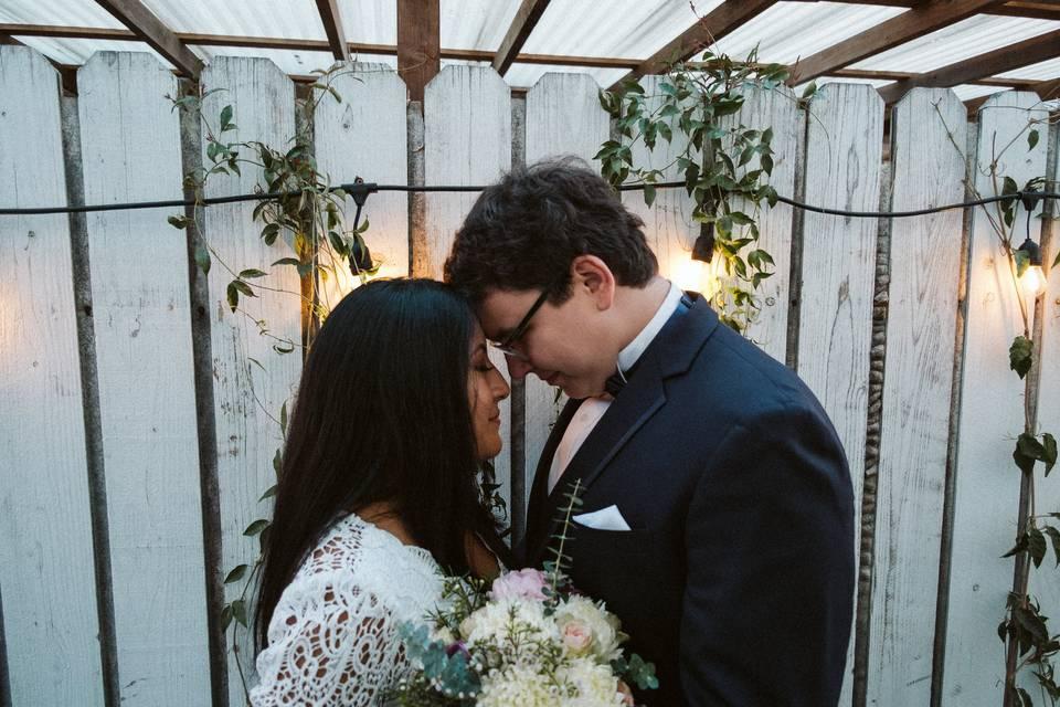 Newlyweds –Andrew Brown Photo