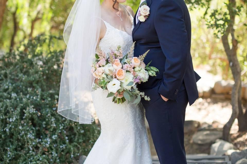 A kiss on the forehead | Chris and Jenn Photos