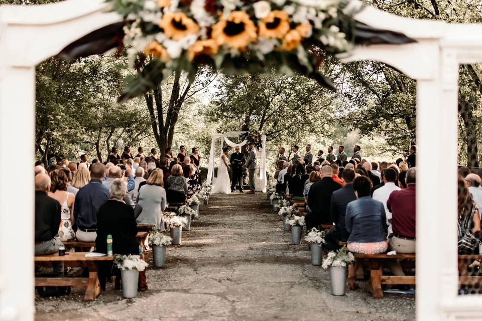 Out side ceremony