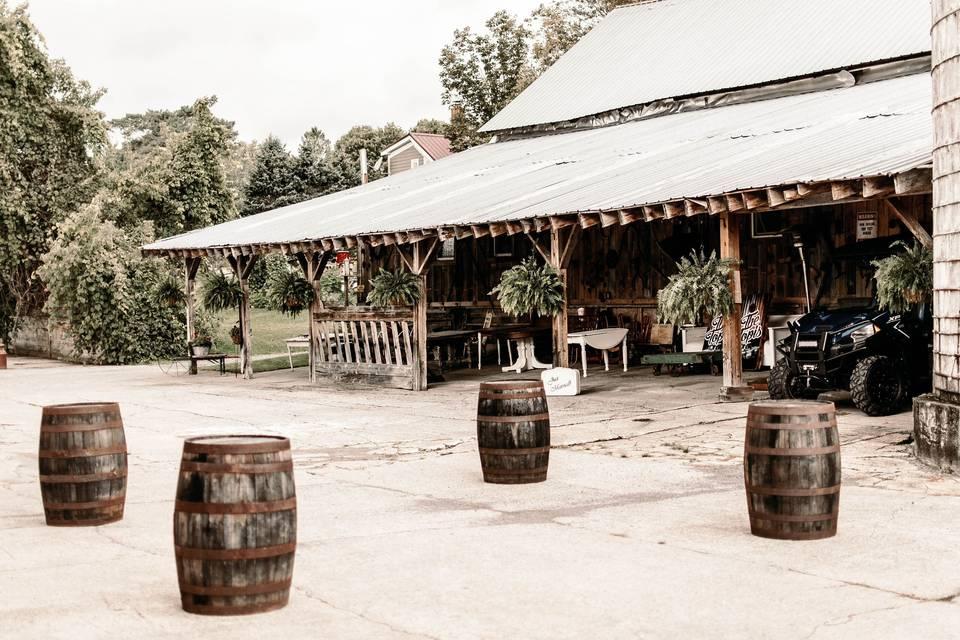 Cocktails area