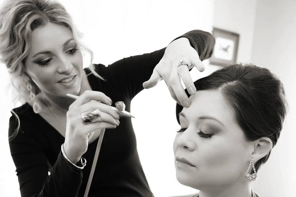 On Location Hair and Makeup
