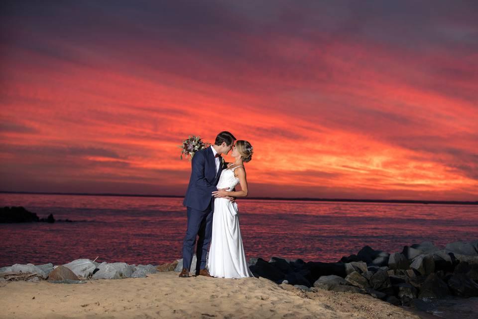 Dramatic Sunset Imagery