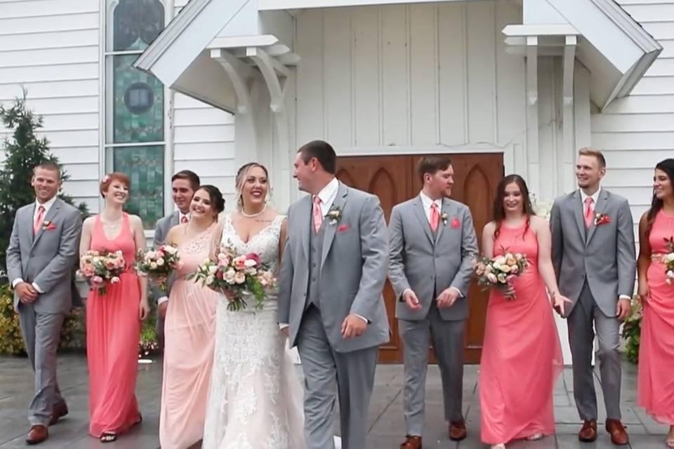 Wedding film footage