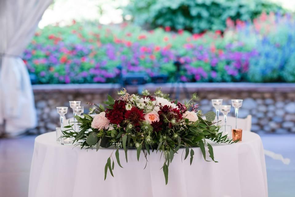 Garden Canopy Reception