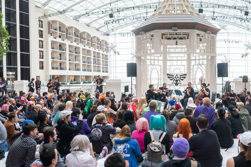 Performing at MAGFest