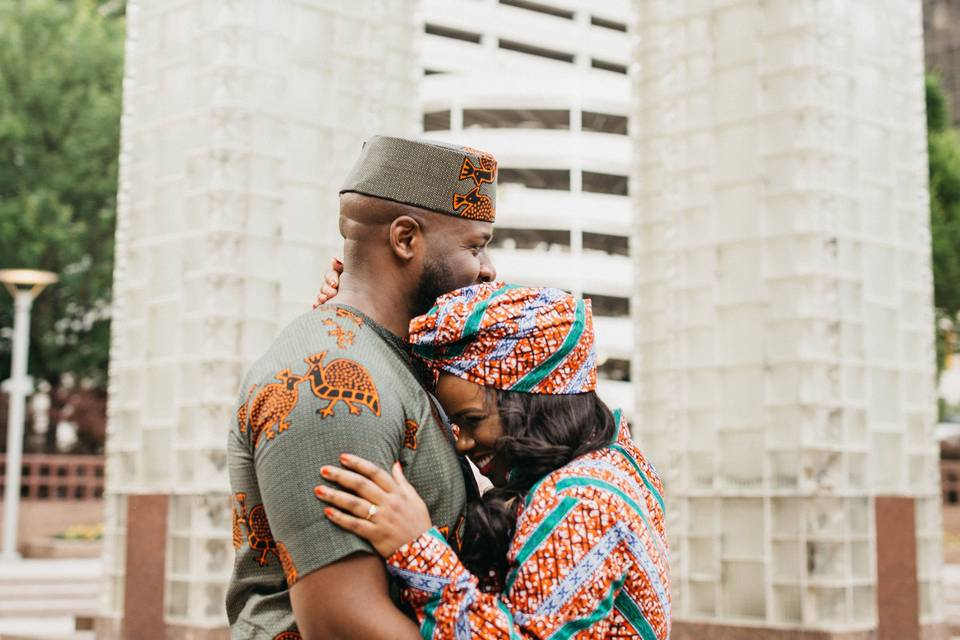 African Style Engagement
