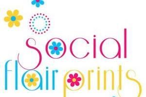 Social Flair Prints