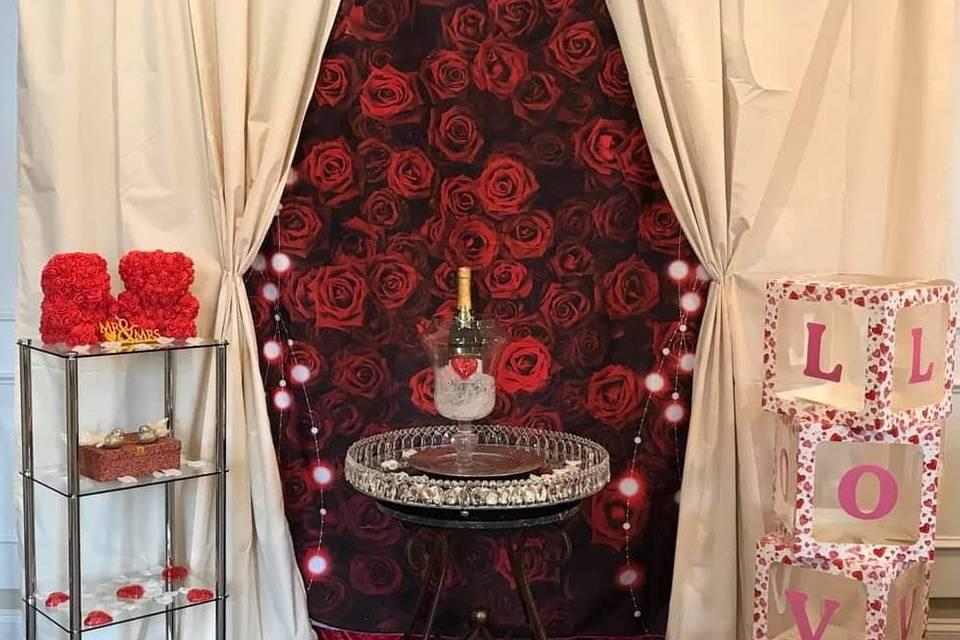 VALENTINES DAY POP UP WEDDING