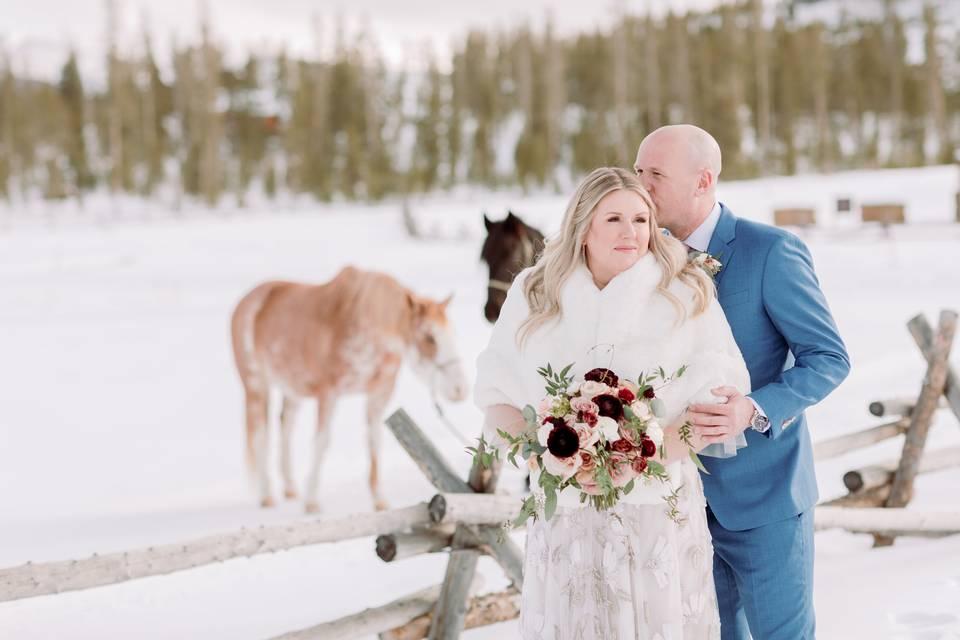 Wedding at Devil's Thumb Ranch