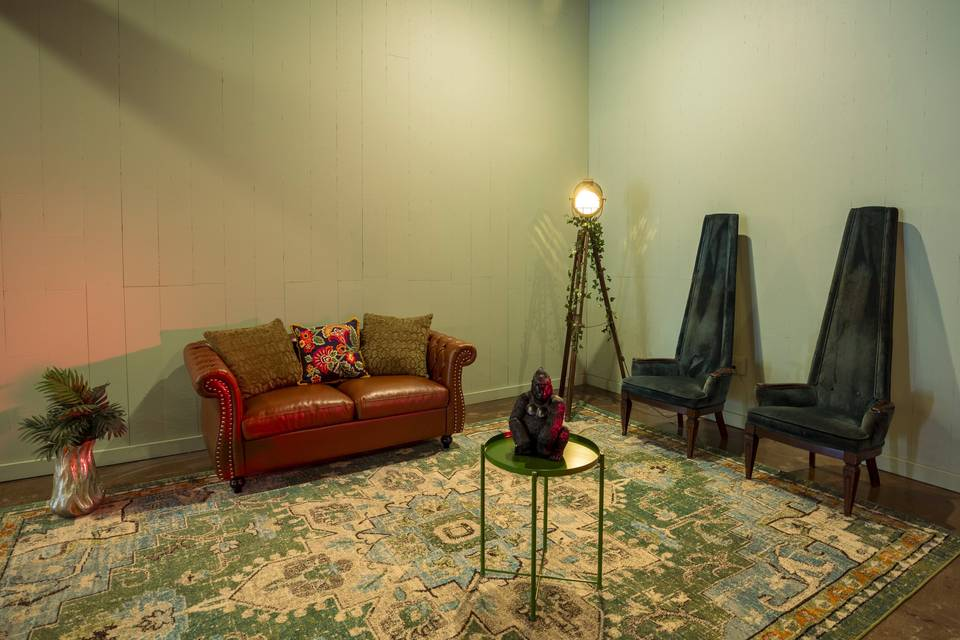 Area to relax and socialize