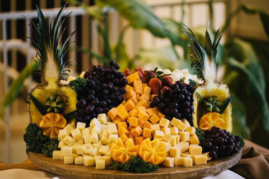 Diced fruits