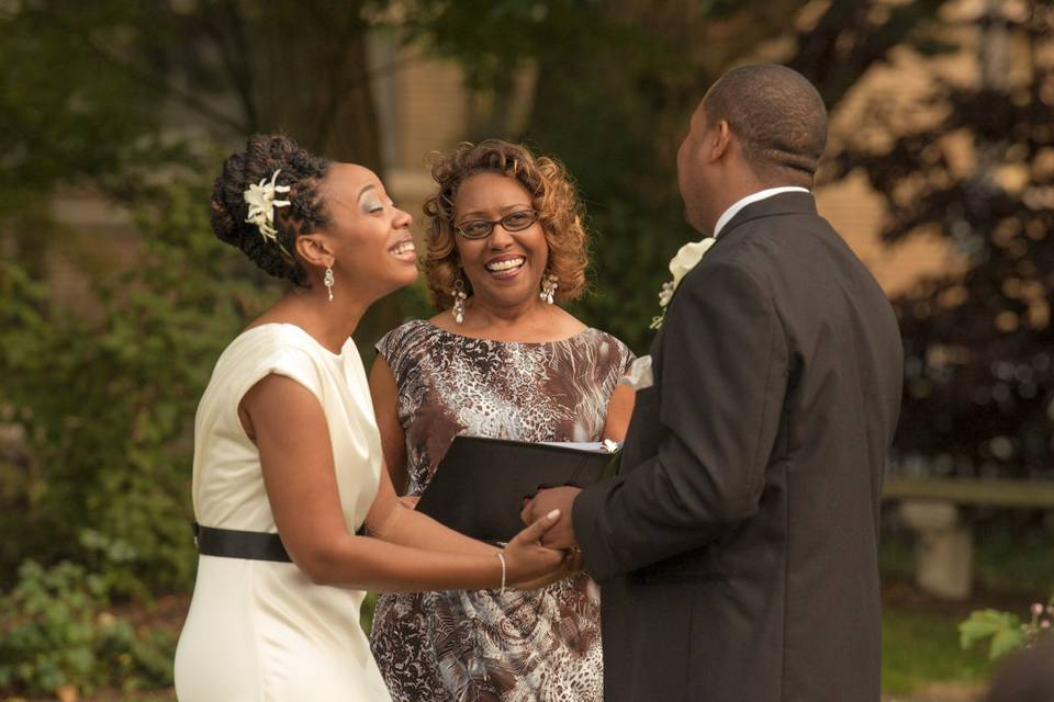 Rev. Marsha Thomas, Wedding Officiant