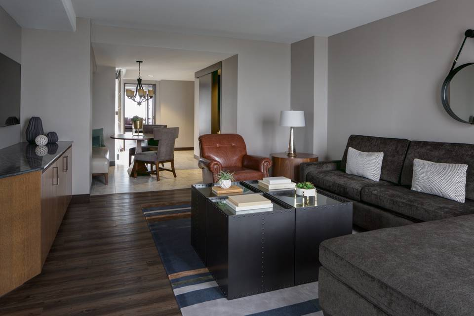 City Suite Living Space