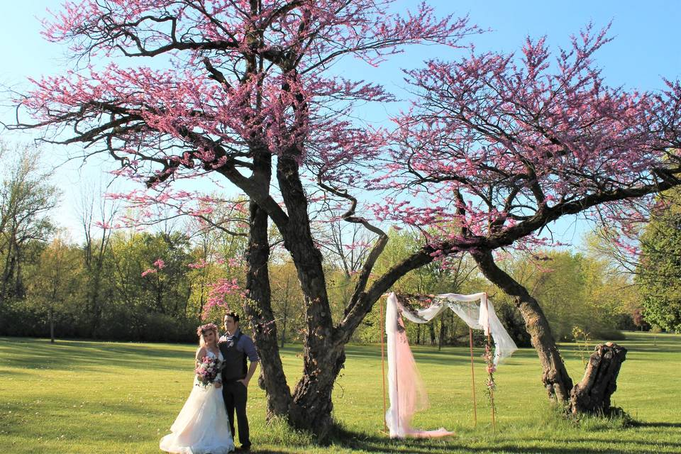 Romantic Riverside Wedding