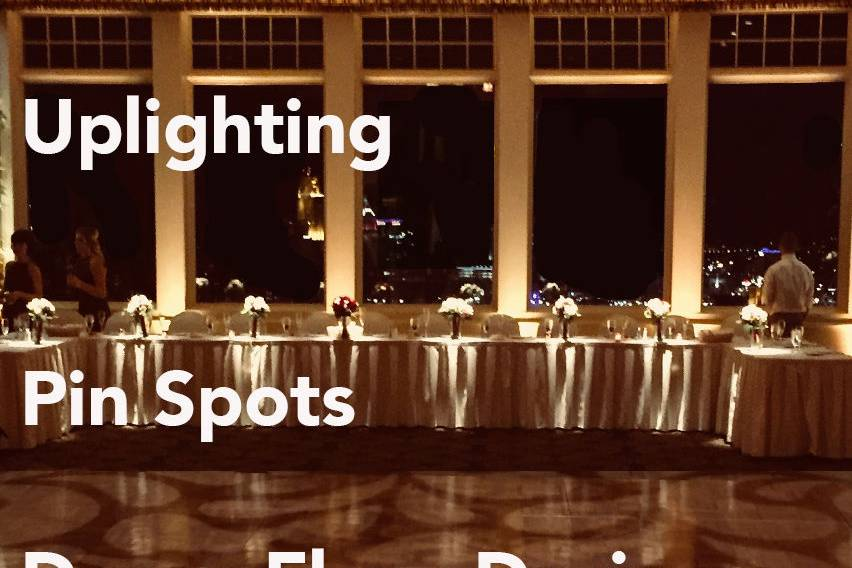 Bada Bling Event Lighting