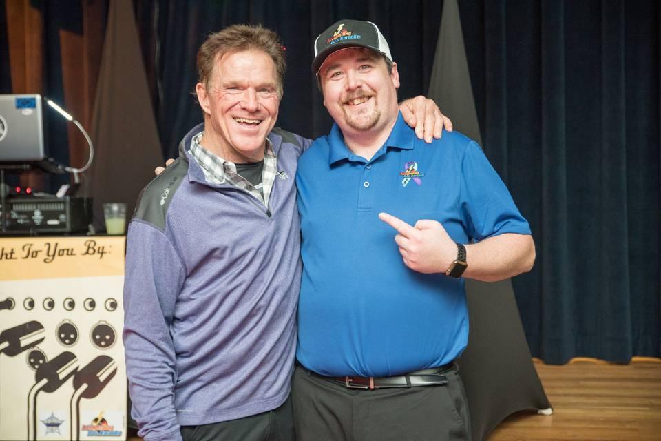 At a DJ gig, met Stan White