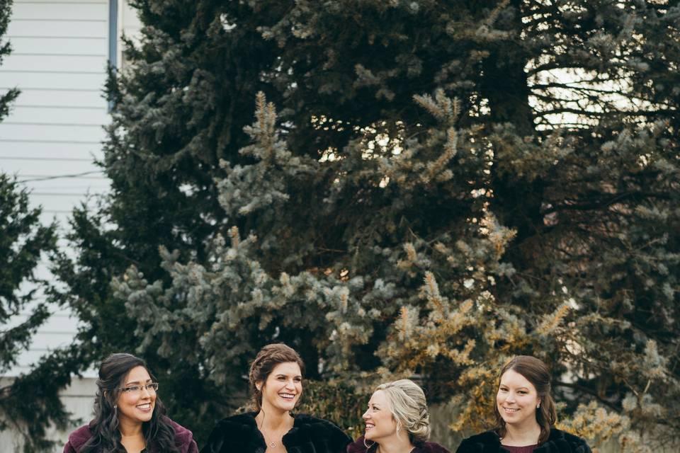 A bridal party