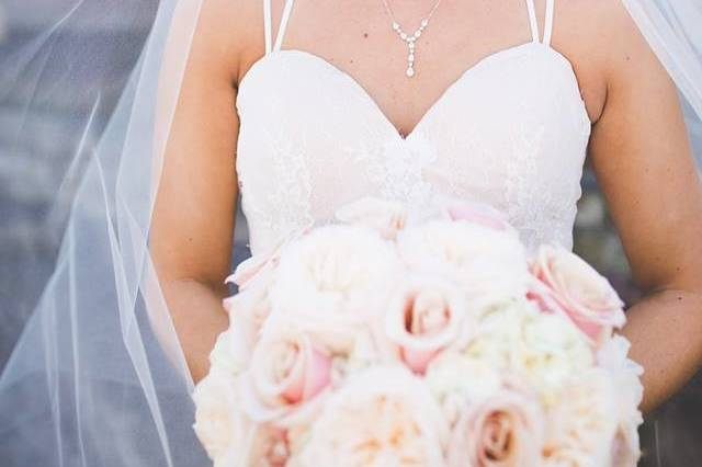 The fresh looking bride
