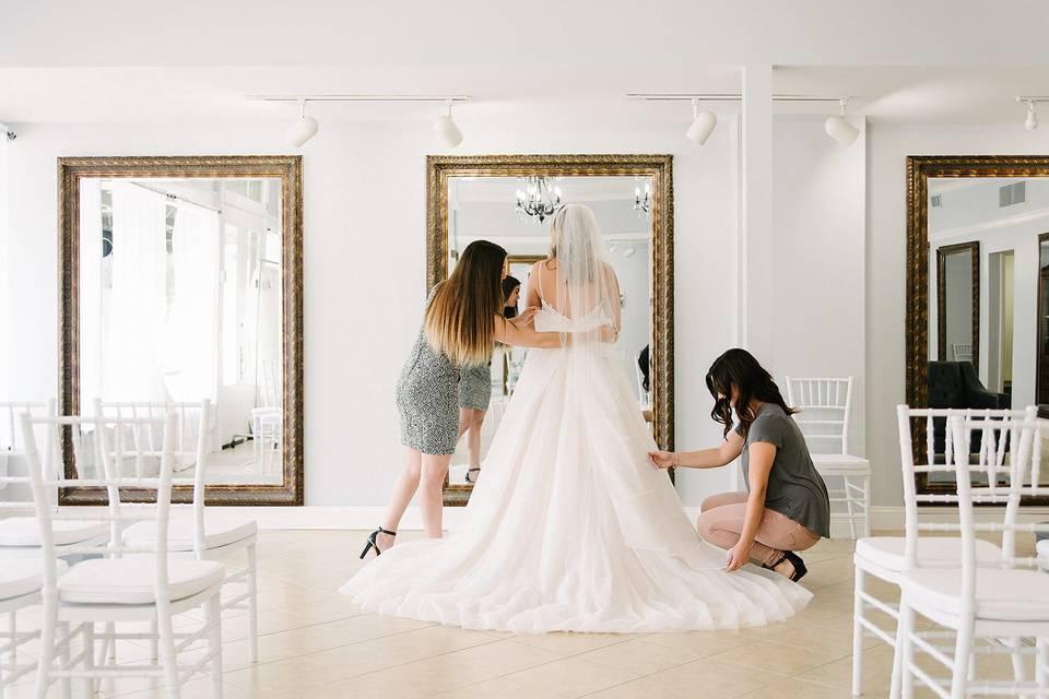 White Wisteria Bridal Boutique