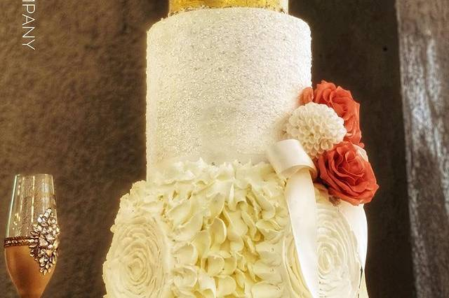 Luxury buttercream cake