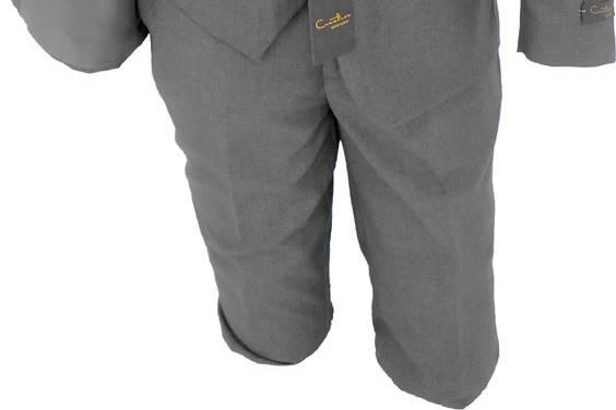 Medium grey wedding suit