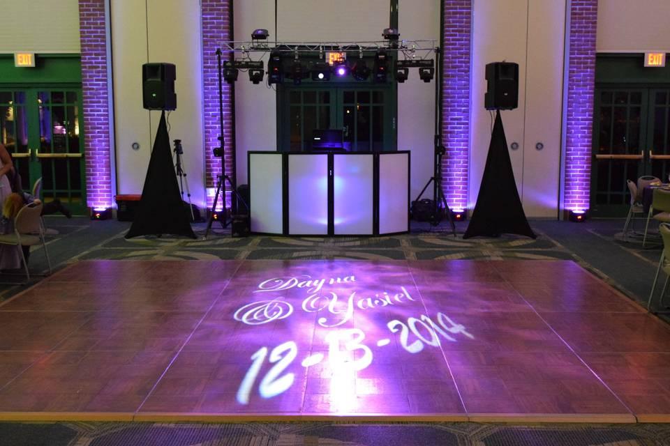 Sights & Sounds Entertainment setup