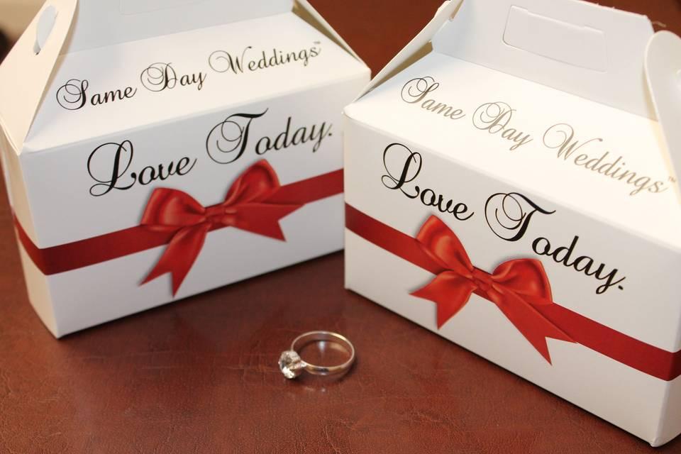 Same Day Weddings™