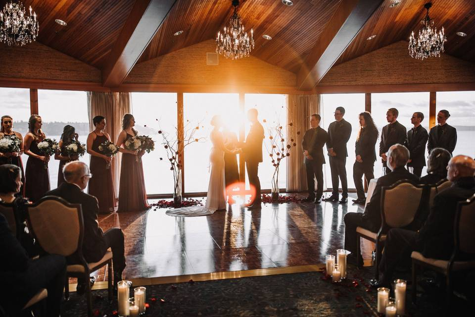 A golden ceremony (Klear Photography)