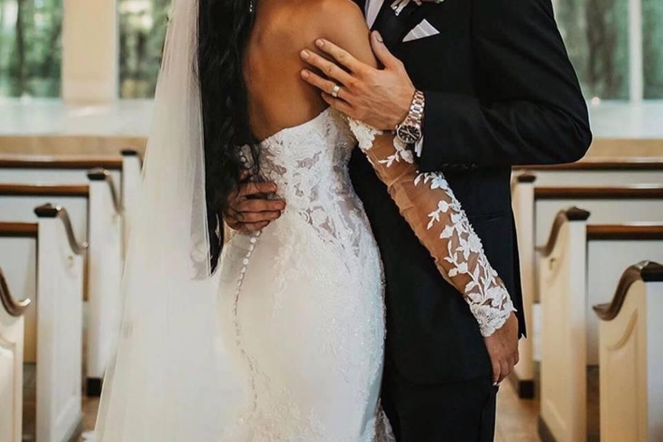 The gorgeous couple