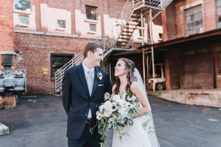 Bride and Groom, Monroe, GA.