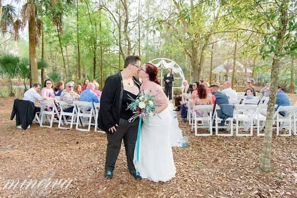 Post-Ceremony Kiss