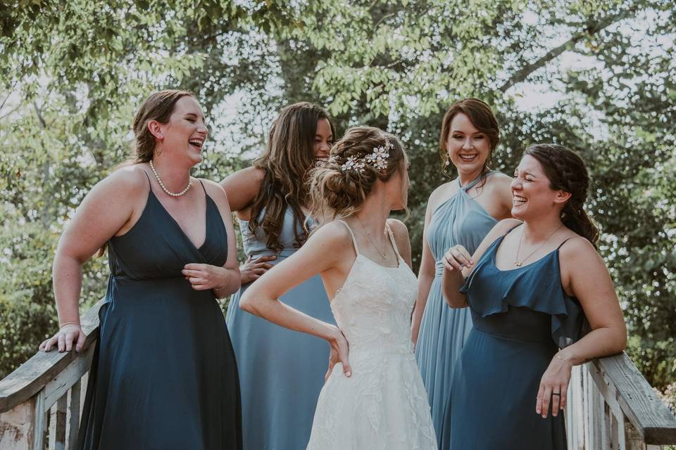 Bridal Party Updos
