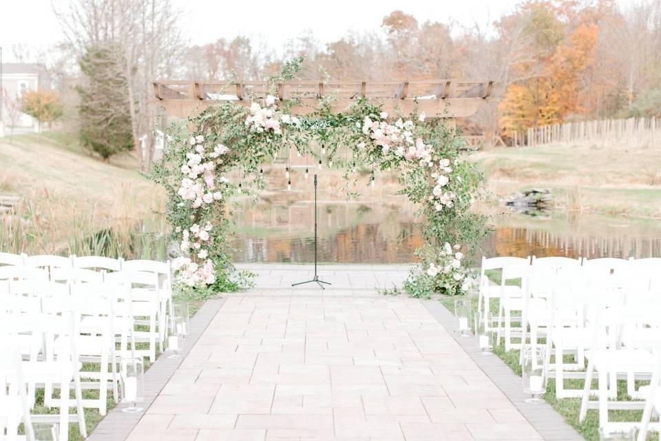 Ceremony Arch (Susan Elizabeth)