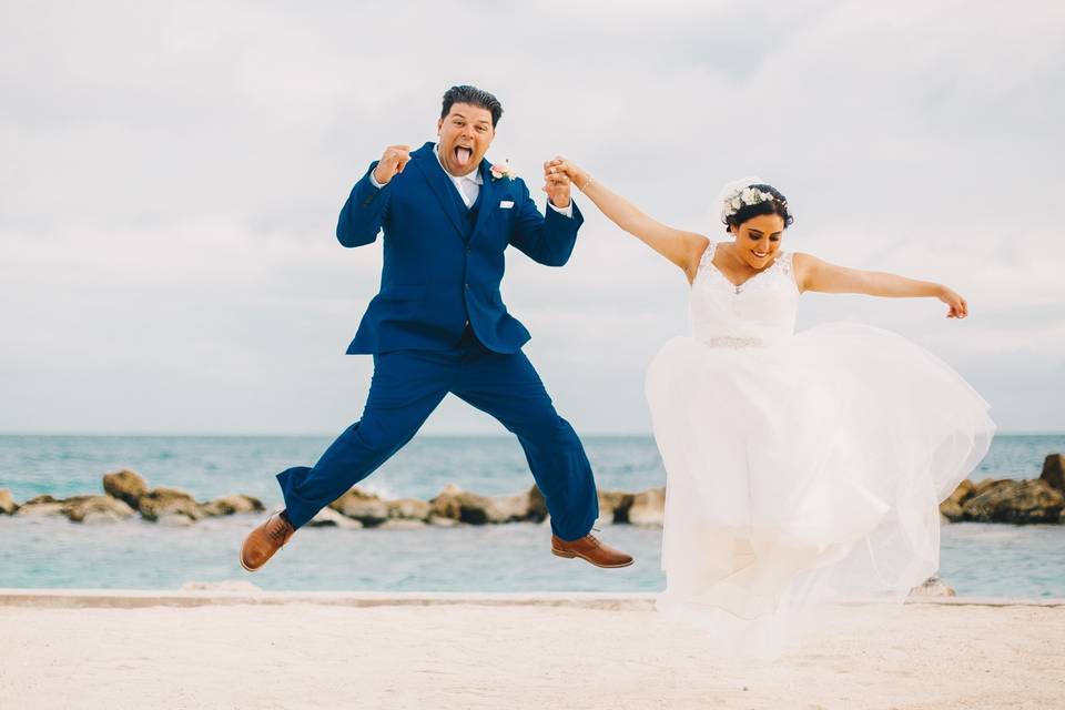 Thareyck Martina Wedding Photo