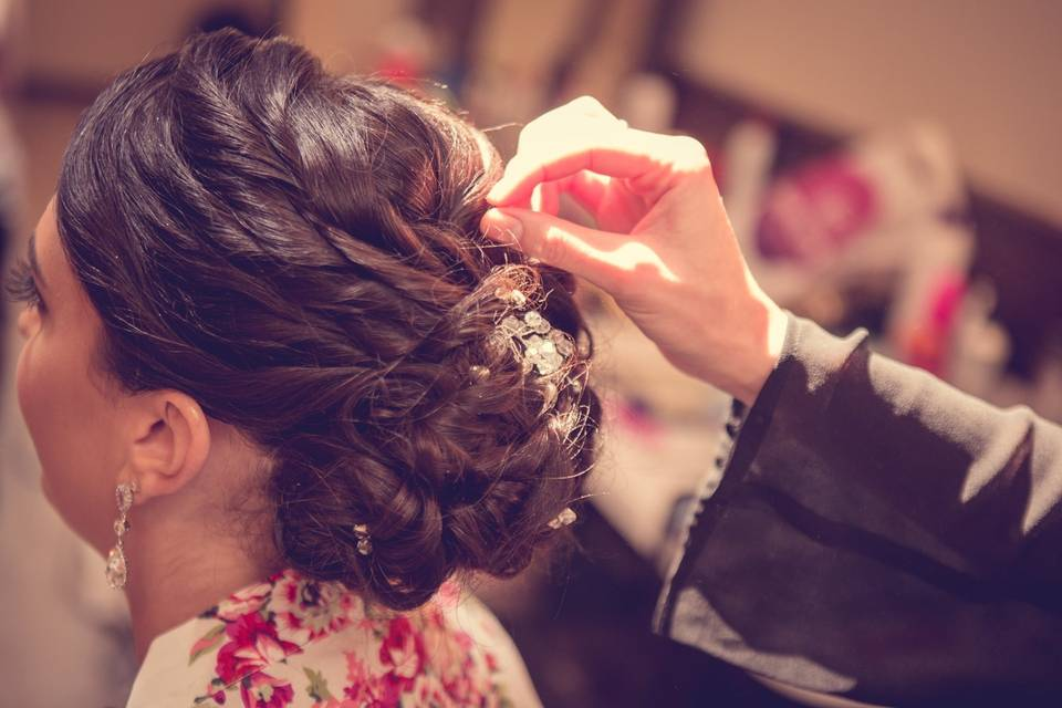 Updo by Maria