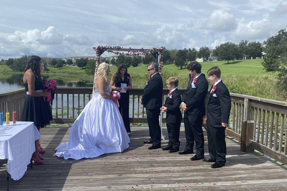Tiffany's wedding 2021