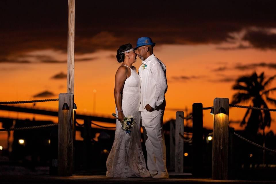 Tiki Sunset Retreat