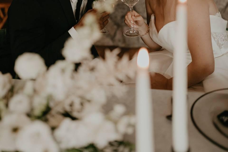 Sweet winter wedding