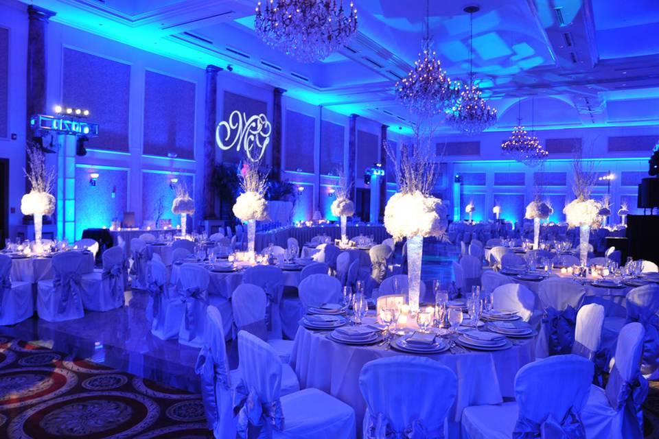 Blue Evening Lights