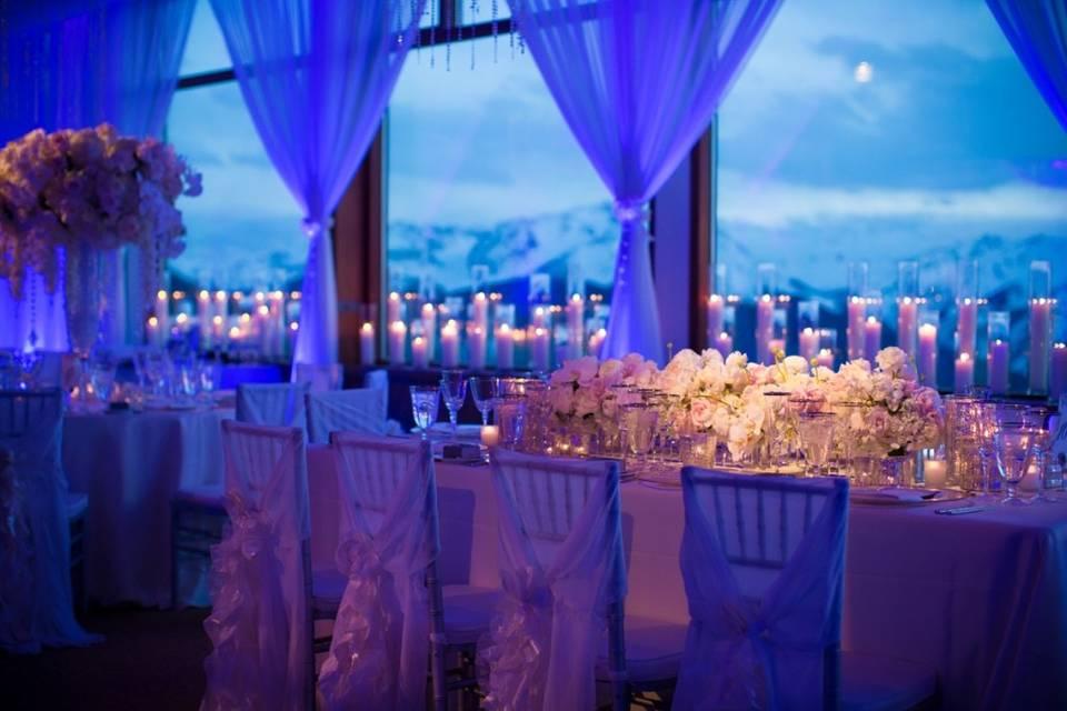 Blue & Warm White LED Lights