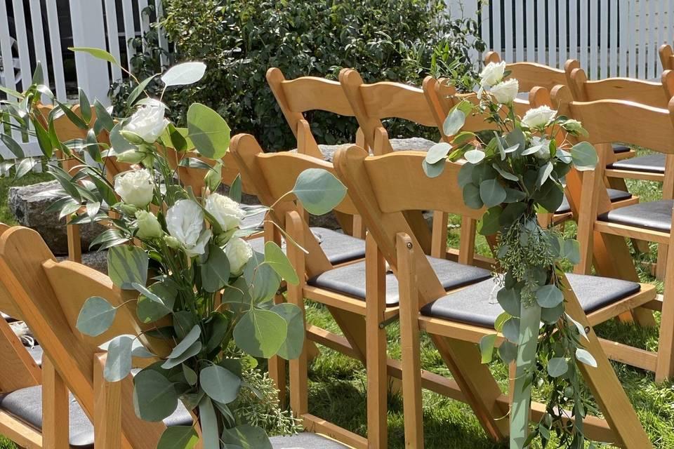 Aisle chair detail
