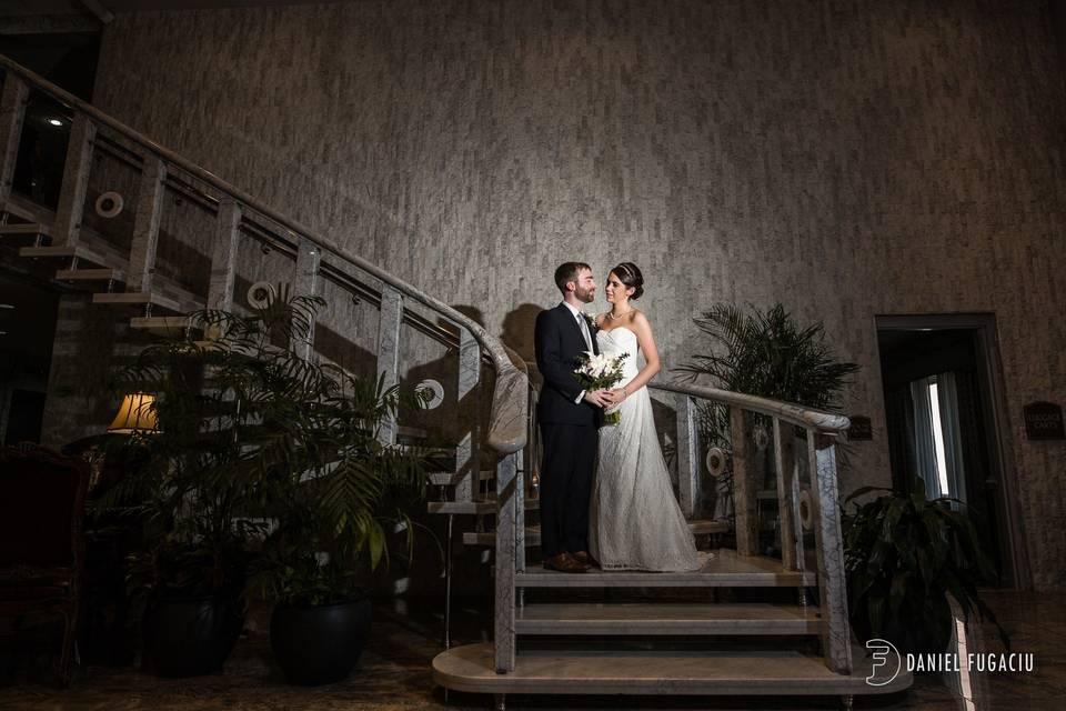 Hotel Lobby Staircase