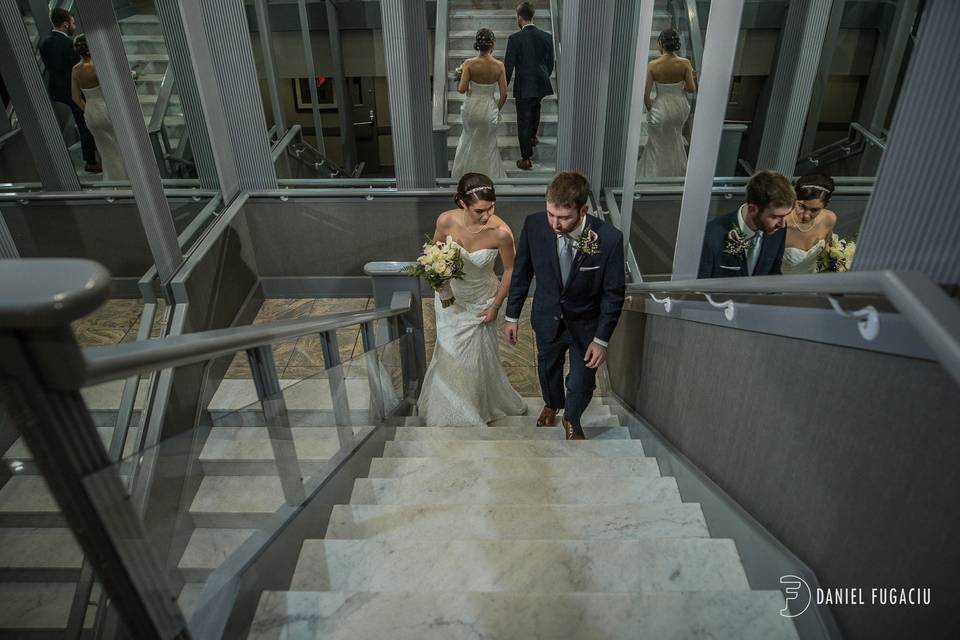 Hotel Stairway
