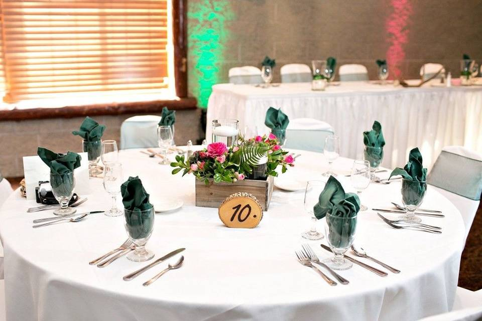 Centerpieces © Shelby Photography