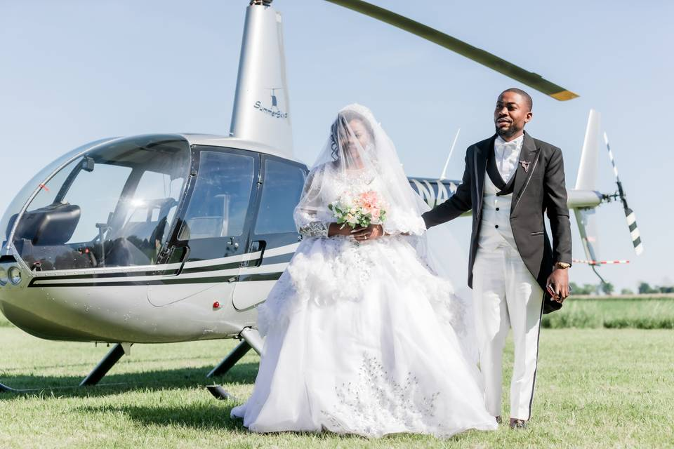 Couple landing
