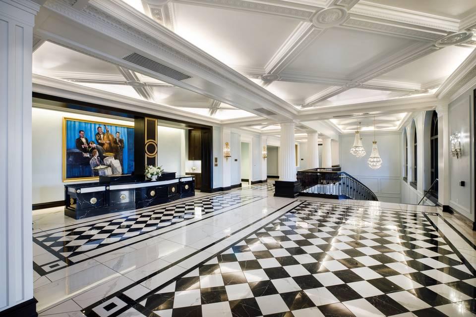 Lobby of Hotel Carmichael