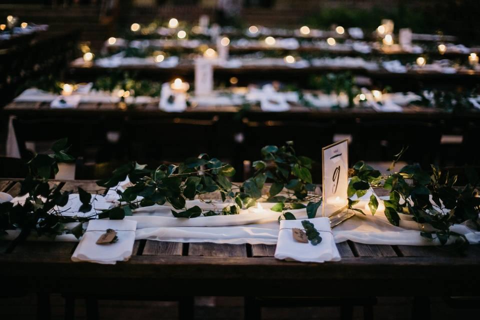 Loving wedding details