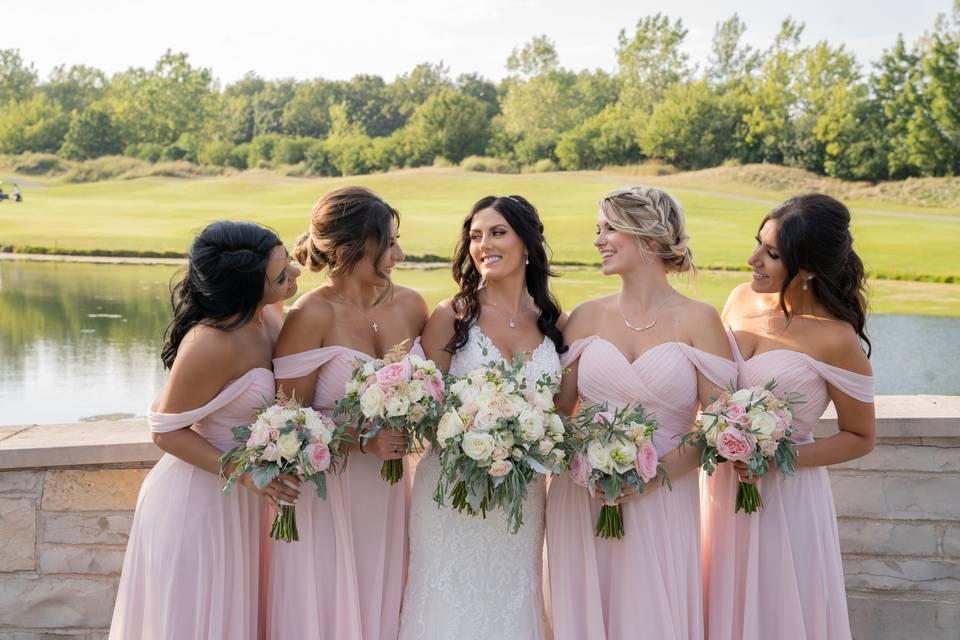 Bridesmaids Bouques